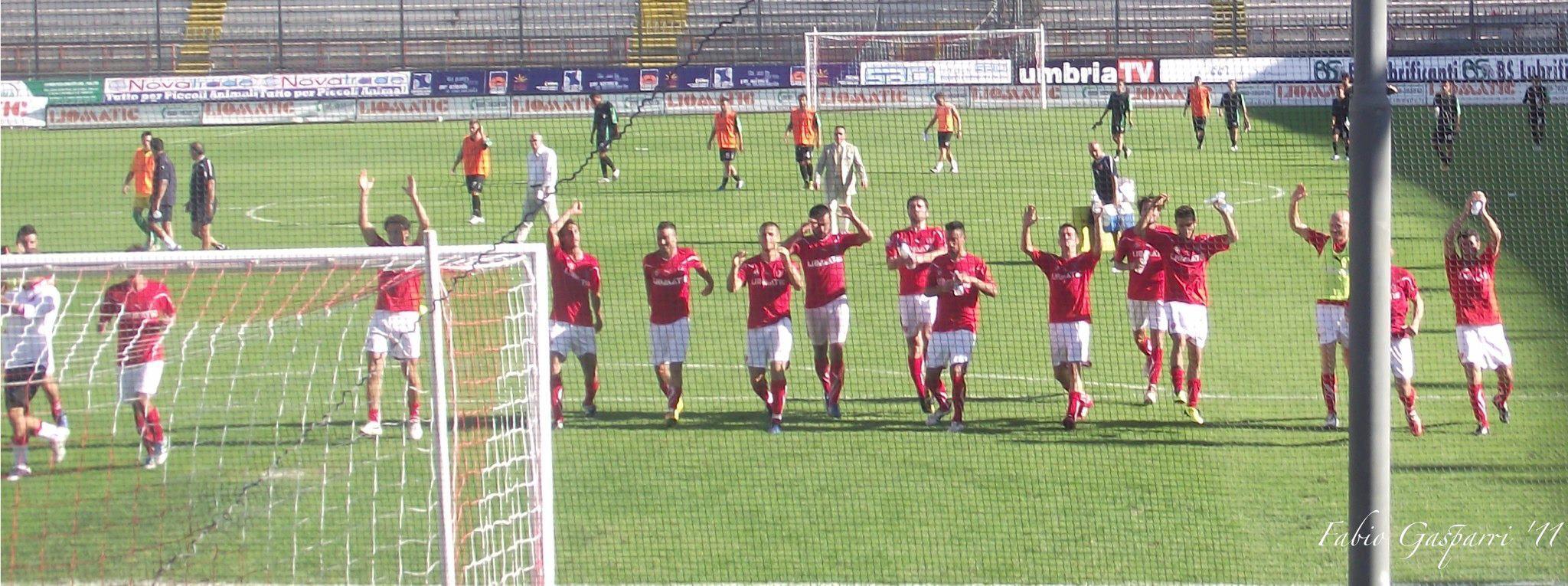 Perugia festeggia